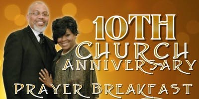 Agape Ministries 10th Anniversary Prayer Breakfast