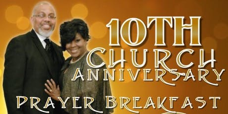 Agape Ministries 10th Anniversary Prayer Breakfast tickets