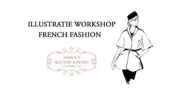 Workshop mode illustraties - thema French Fashion