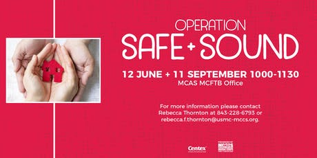 Operation Safe & Sound tickets