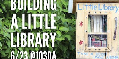 Building A Little Library at Family Renew