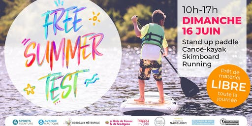 Free Summer Test 2019 - 16 juin 2019 - Bordeaux LAC
