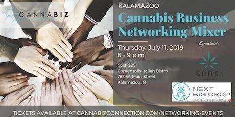 Kalamazoo Cannabiz Connection Networking Mixer tickets