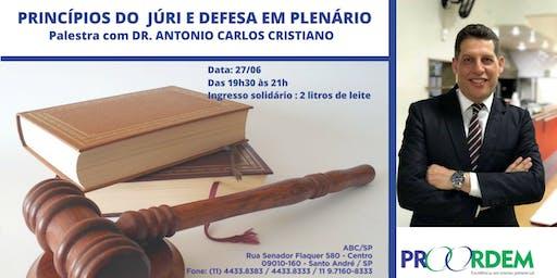 PRINCÍPIOS DO JÚRI  E  DEFESA EM PLENÁRIO