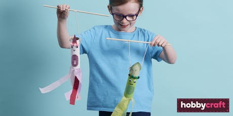 Kids' Craft Club Make Your Own Windsock Creature- Summer Holidays  biglietti