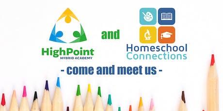Meet Us: Homeschool Connections & HighPoint Hybrid Academy (June 24 - Afternoon) tickets
