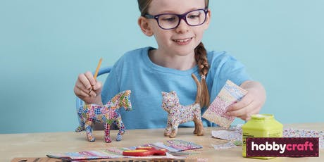 Kids' Craft Club Decopatch Animals- Summer Holidays  biglietti