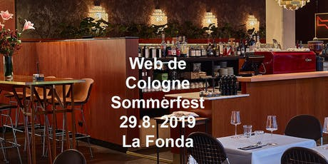 Web de Cologne Sommerfest @La Fonda Tickets