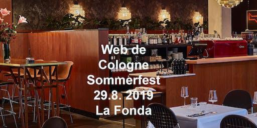 Web de Cologne Sommerfest @La Fonda
