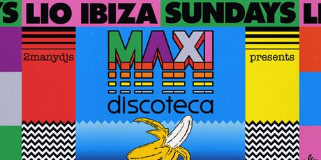 2manydjs presents Maxi Discoteca tickets