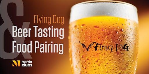 Flying Dog Beer Tasting & Food Pairing