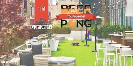 Rooftop Summer Beer Pong Tournament