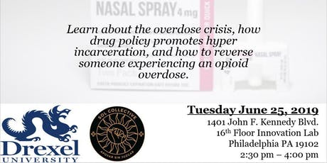 Overdose Prevention with Returning Citizens tickets
