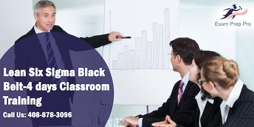 Lean Six Sigma Black Belt-4 days Classroom Training in Colorado Springs, CO