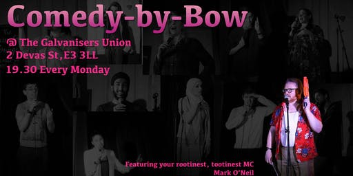 Comedy Night + Drink in London's East End
