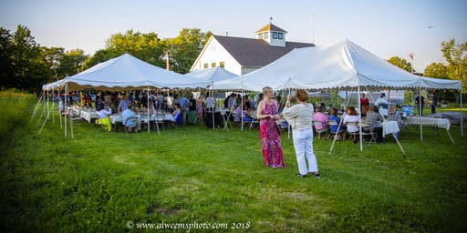 Community Harvest Project Farm to Table Dinner & Garden Tour 2019