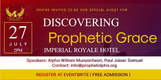 DISCOVERING PROPHETIC GRACE