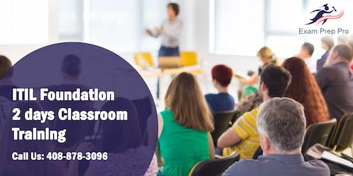 ITIL Foundation- 2 days Classroom Training in Colorado Springs,CO