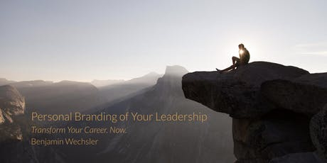 Personal Branding of Your Leadership tickets