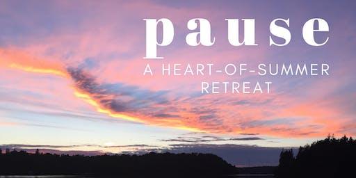 PAUSE // A Heart of Summer Retreat in Magnetawan