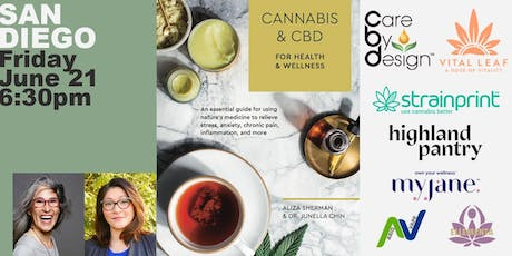 Book Launch Party San Diego: Cannabis & CBD for Health & Wellness tickets