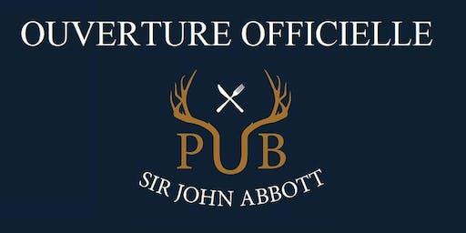 Ouverture officielle Pub Sir John Abbott