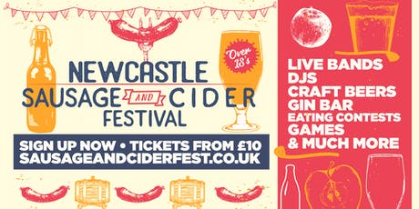 Sausage And Cider Fest - Newcastle tickets