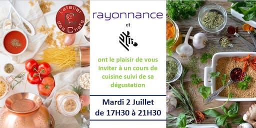 Invitation Atelier des Chefs, Lille - Cours de cuisine suivi de sa dégustation