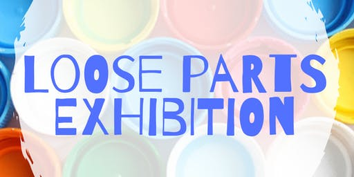 Loose parts exhibition: Early Years training - Leeds (Kippax)