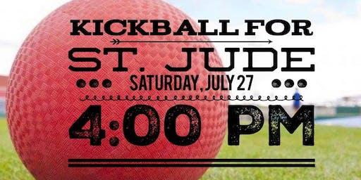 Kickball Tournament for St. Jude