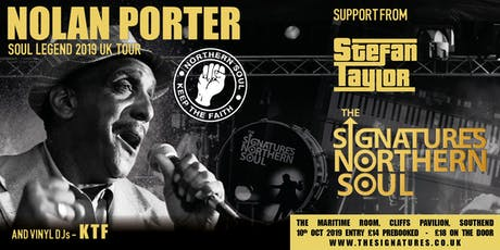 The Signatures + Nolan Porter Essex tickets