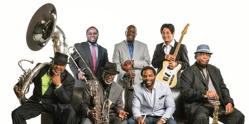 Dirty Dozen Brass Band with Over Easy and Smooth Hound Smith