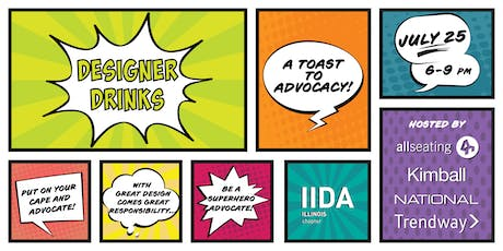 2019 Designer Drinks: A Toast to Advocacy tickets
