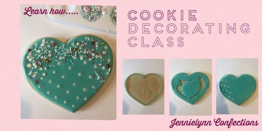Cookie Decorating Class- Christmas themed, early prep for the holidays