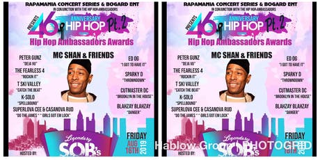 The 46th Anniversary of Hip Hop Pt 2 tickets