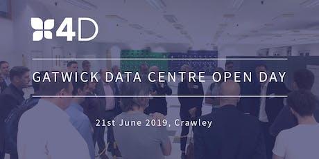 4D Gatwick Open Day: Tour a World Class Tier 3 Data Centre tickets