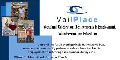 Vail Place Vocational Celebration: Achievements in Employment, Volunteerism, and Education