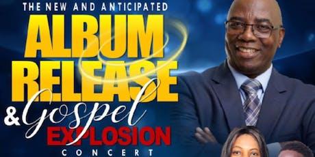 """The Anticipated Album Release Gospel Explosion Concert"" for Psalmist Roy Cunningham tickets"