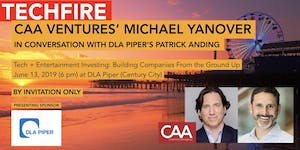 CAA Ventures' Michael Yanover, in Conversation with...