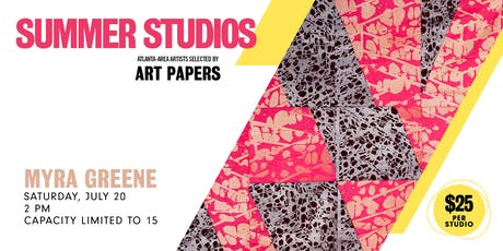 AP Summer Studios: Myra Greene tickets