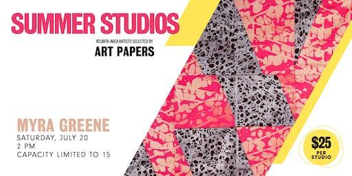 AP Summer Studios: Myra Greene