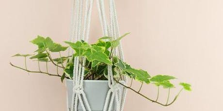 Macrame Hanging Planter Workshop tickets
