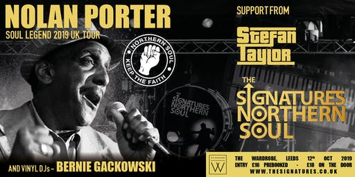 The Signatures + Nolan Porter- Melton Mowbray