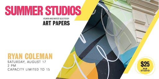 AP Summer Studios: Ryan Coleman