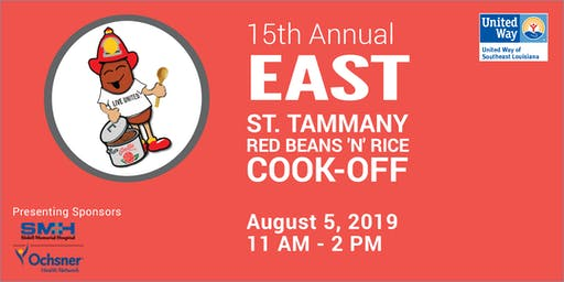 UWSELA's 15th Annual East St. Tammany Red Beans 'N' Rice Cook-Off