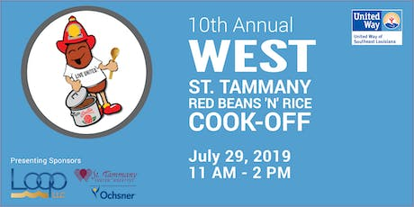 UWSELA's 10th Annual West St. Tammany Red Beans 'N' Rice Cook-Off tickets