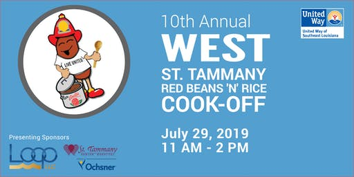 UWSELA's 10th Annual West St. Tammany Red Beans 'N' Rice Cook-Off