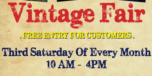 Vintage fair at the Festival Marketplace