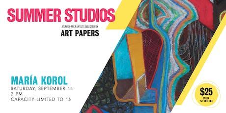 AP Summer Studios: María Korol tickets