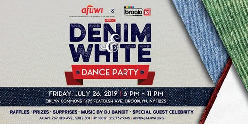 AFUWI's & braata Productions Denim & White Dance Party